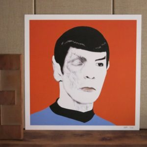 Illustration capitaine spock chez chromosome a lille