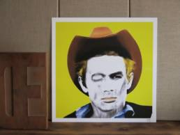 Illustration james dean chez chromosome a lille