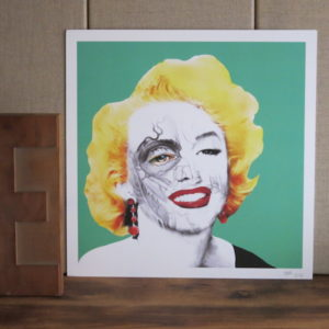 Illustration marylin monroe chez chromosome a lille