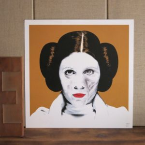Illustration de princesse leia chez chromosome a lille