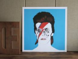 illustration david bowie chez chromosome a lille