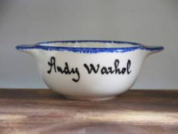 un bol breton andy warhol pour les fans d'art contemporain