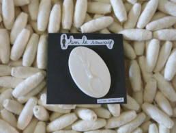 Broche ceramique tim la sauvage chez chromosome a lille